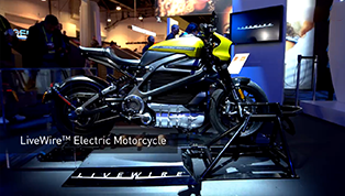[2019 CES] LiveWire The Most Connected Electric Motorcycle Experience Ever  #PanasonicCES