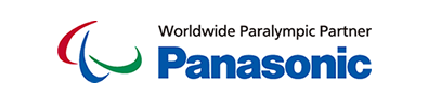 Logo of Worldwide Paralympic Partner Panasonic